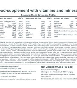 9 month multivitamin (60)