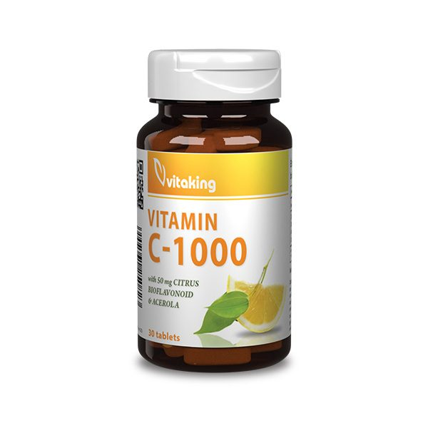 Vitamin C 1000mg bioflavonoids (30)
