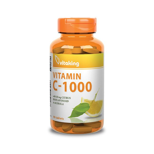 Vitamin C 1000mg with bioflavonoids (90)