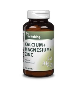 Calcium + Magnesium and Zinc