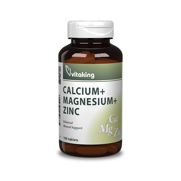 Calcium + Magnesium and Zinc
