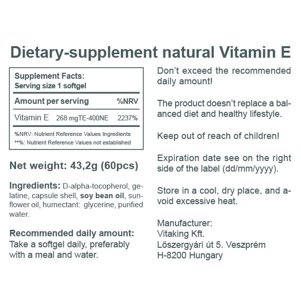 Vitamin E-400 IU