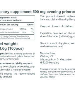 Evening Primrose Oil 500mg (100)