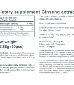 Ginseng extract (60)