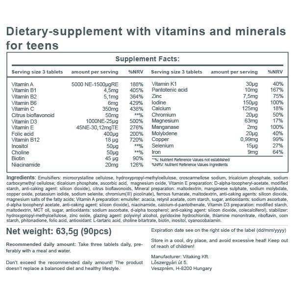 Mega Vitamin for Teens