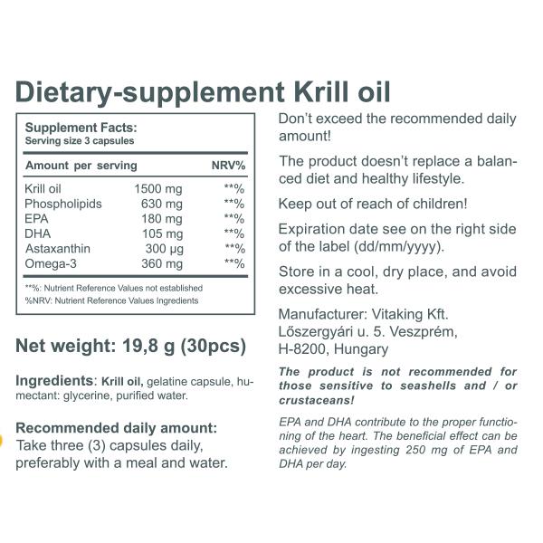Vitakrill oil (30)
