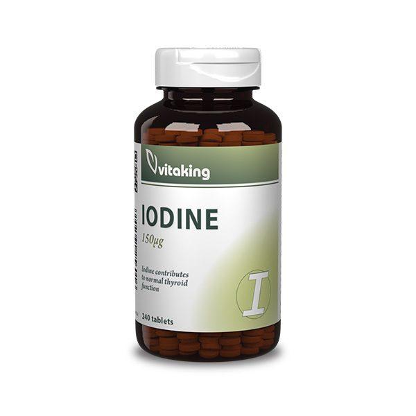 Iodine (150µg)