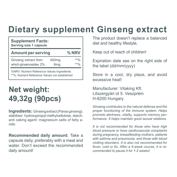 Ginseng Extract (90)