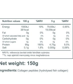 100% Fish Collagen (150g) Natural