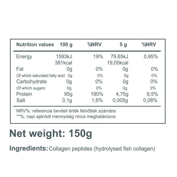 100% Fish Collagen (150g) Natural